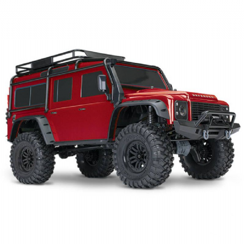 Traxxas TRX-4 Land Rover Defender 1:10 4WD Electric Scale and Trail Crawler RTD (+ TQi , XL-5 HV, Ti